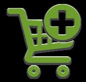 Отдельные рекомендуемые товары в корзине