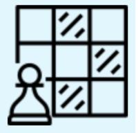 Описания в шахматном порядке