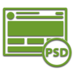 Верстка шаблона с PSD исходников